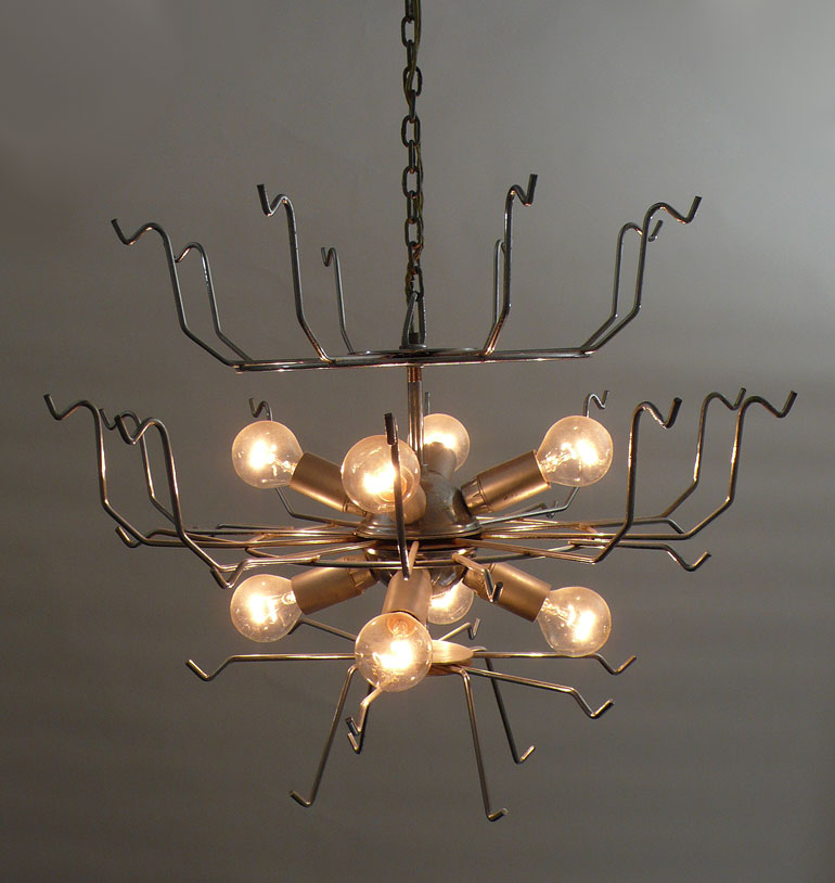 Vistosi disc chandelier 36 disc made once only 950 aloadofball Image collections